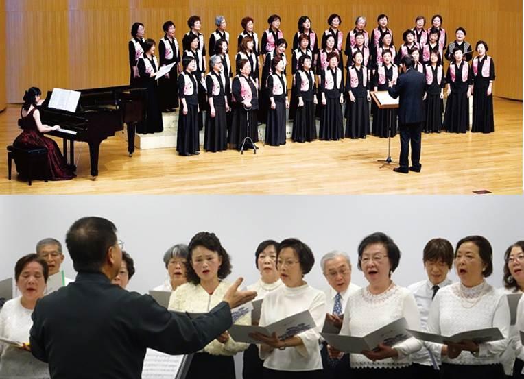 【音樂】台北水噹噹(スイタンタン)合唱団と台湾文化センター民謡合唱団との交流音楽会