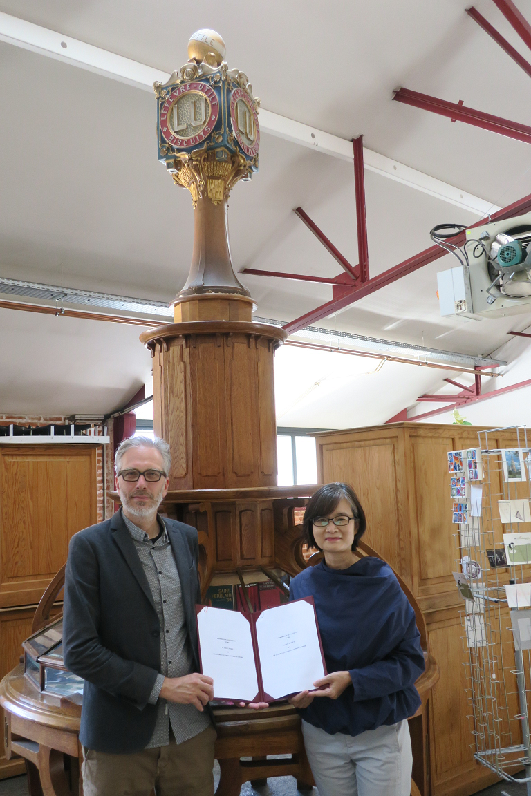 Taiwan's MOC signs MoU with Le Lieu Unique to further cultural ties