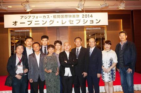 「福岡国際映画祭」開幕式のレッドカーペットに台湾の監督や俳優らが登場