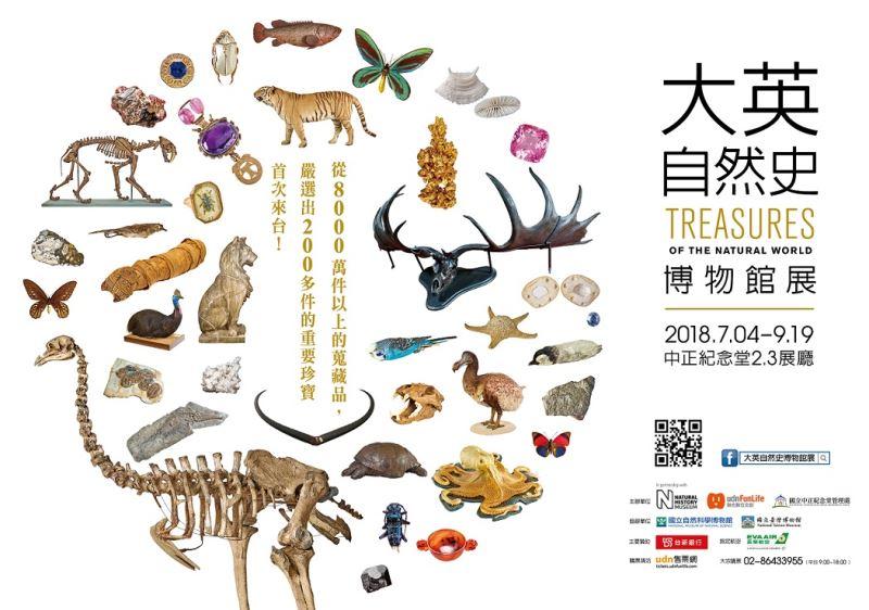 大英自然史博物館展-TREASURES OF THE NATURAL WORLD