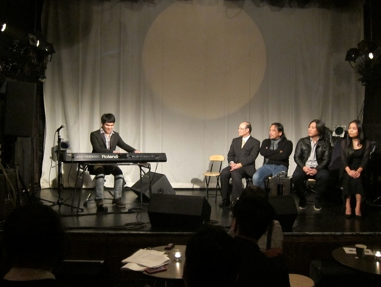 Blind pianist holds charity concert series in Japan