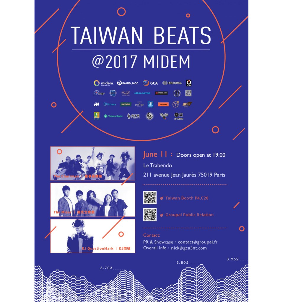 « Taiwan Beats » au Midem à Cannes