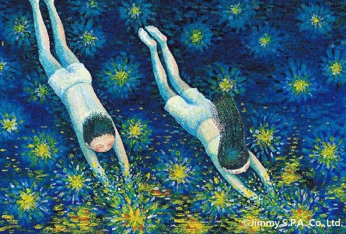 台湾のベストセラー絵本作家、ジミー・リャオ 「星空」原画展開催のお知らせ