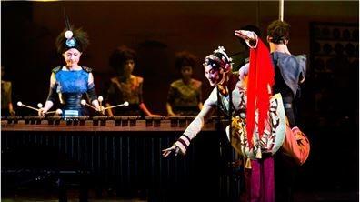 傳統與當代交織   擊樂與京劇共樂