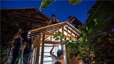 跟老屋搏感情  為城市敲打出聚落新生命的社區木工班