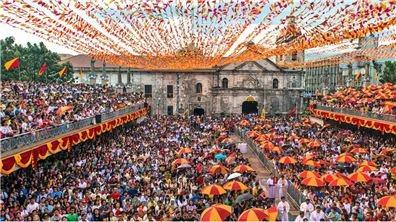 宿霧聖嬰節(Cebu Sinulog Festival)狂熱