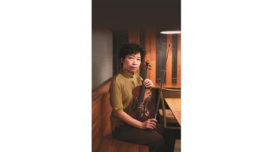 小提琴演繹「海翁繪」 張雅晴傳奏父女一世情