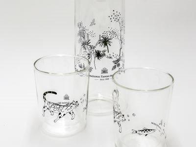 共遊島嶼山林-玻璃瓶杯組