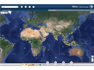 the Atlas of Mutual Heritage website