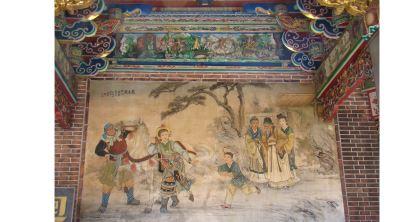廟宇彩繪 細品匠師工藝