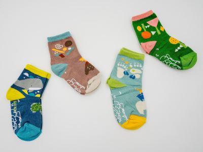 【Kids NTM】自然探索襪(山海版、動植版)