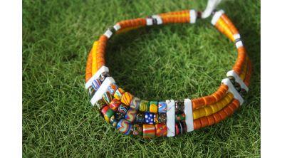 紋樣琉璃 串起文化流傳   排灣族琉璃珠工藝的深遠與美麗