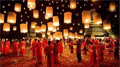 漂浮的願望 泰國水燈節