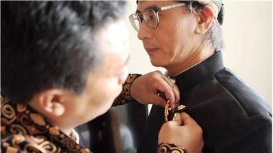 臺南藝術大學蔡宗德教授  獲得印尼梭羅宮廷授予親王爵位殊榮