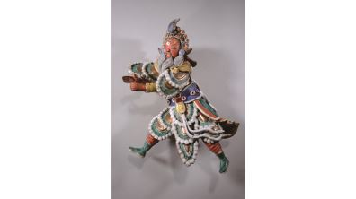 交趾陶人物-姜維