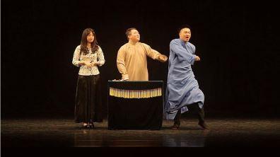 搭起臺灣茶館味的舞台 讓相聲走入生活