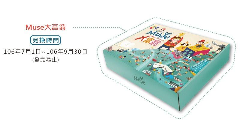 臺史博「Muse大富翁•一起同樂遊」暑假活動集章說明
