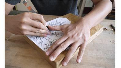 注入精神的「小異」刀具  造就木雕大不同
