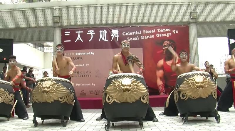 台灣月系列活動--【三太子尬舞】(九天民俗技藝團)