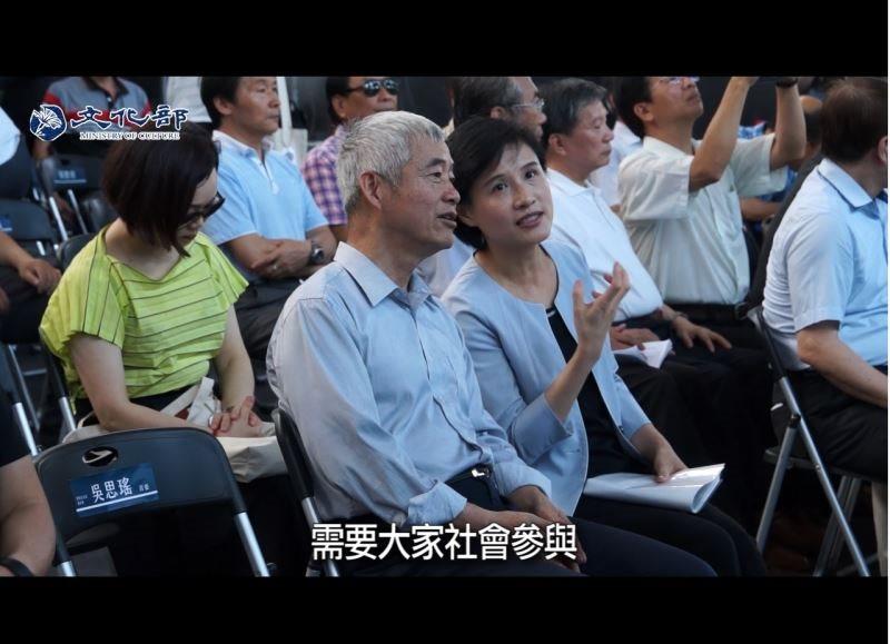 麗君部長說:軟硬體並行 修復傳承台灣的鐵道記憶