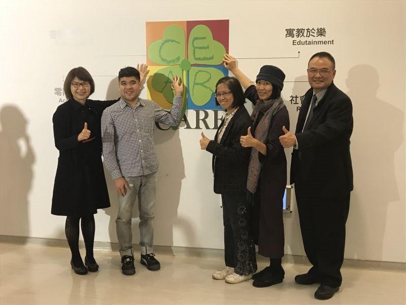 聚合‧綻放──臺灣美術團體與美術發展 文化近用記者會