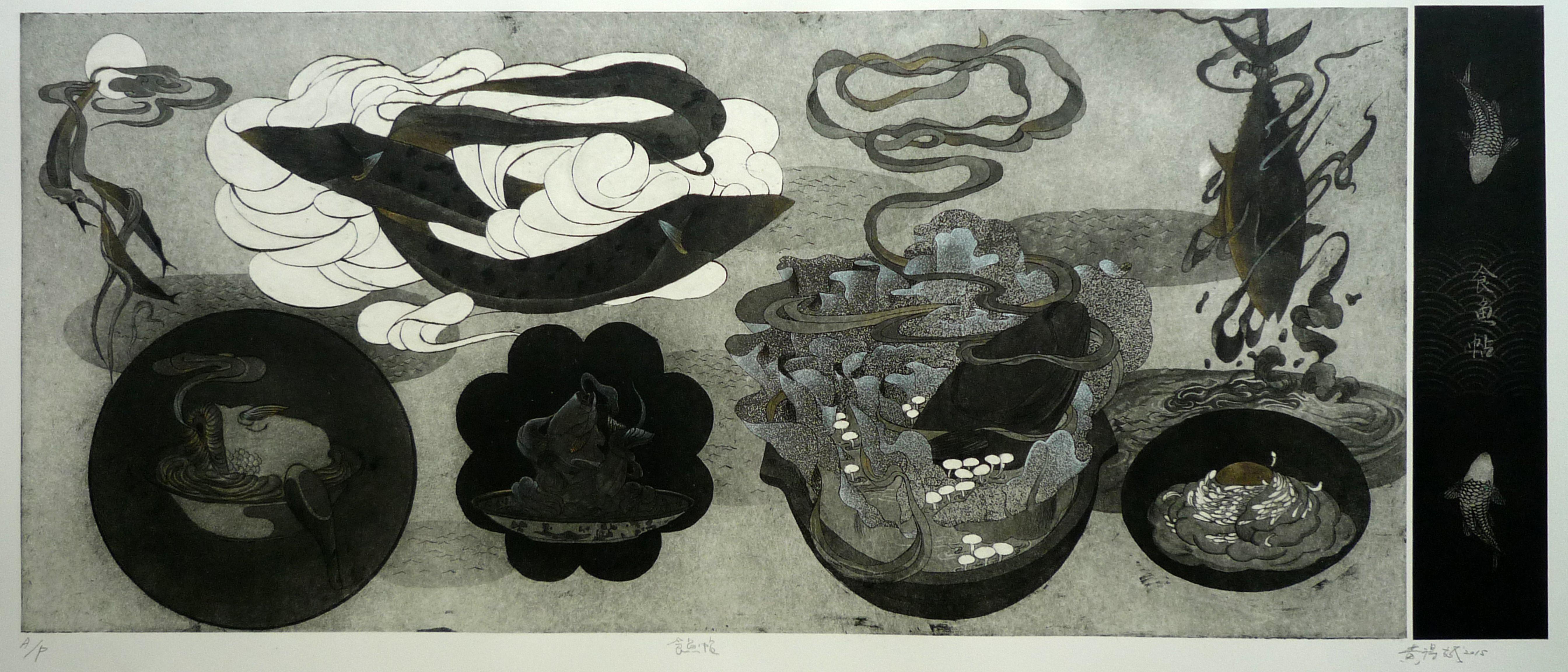 「璞玉發光-104年藝術行銷活動」西畫類大專社會組-特優 黃得誠