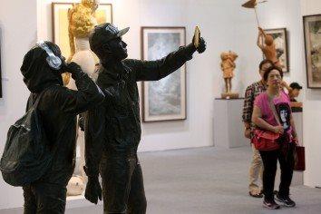 台北芸術博覧会が盛大に開幕