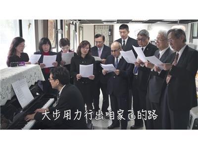 2014世界人權日政治受難者前輩合唱團練習