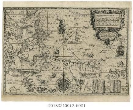 PLANCIUS, Petrus〈摩鹿加香料群島圖〉
