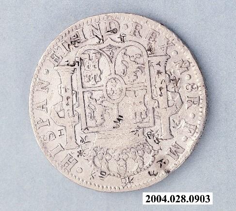 西班牙8里爾銀幣