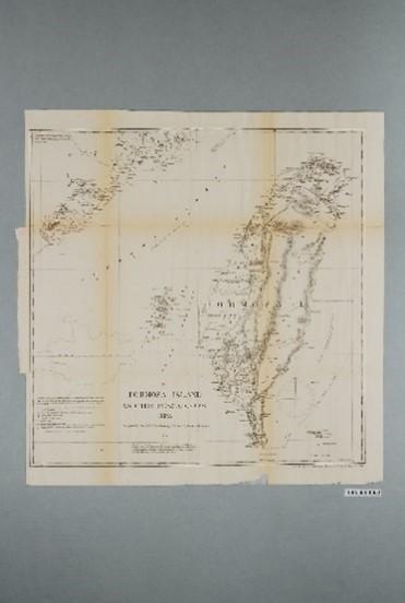 李仙得〈福爾摩沙島與澎湖群島圖〉