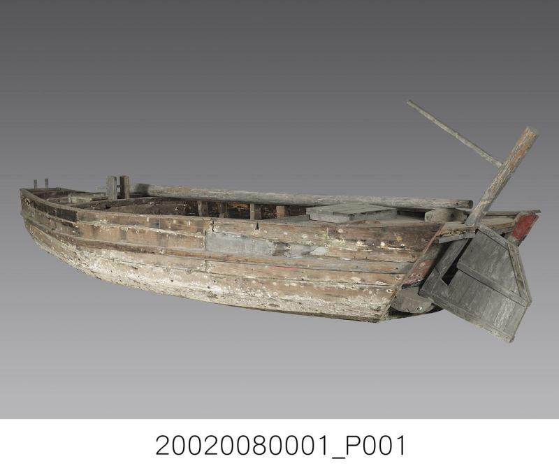 單桅手撐船
