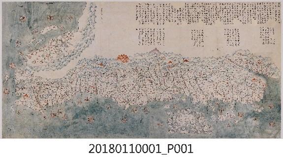 19世紀臺灣輿圖