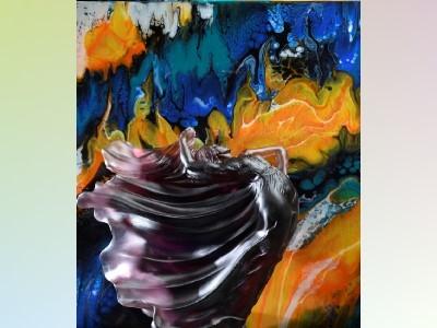 Colored Glass‧Splash‧Image