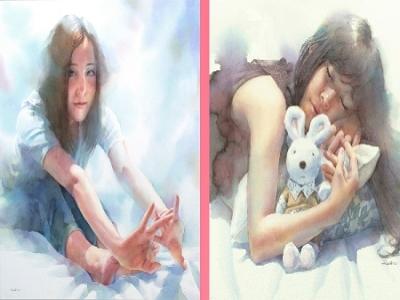 世界水彩大師系列-松林淳「青春物語」水彩個展