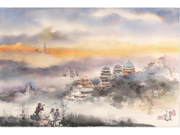 2018世界水彩華陽獎得獎畫家邀請展